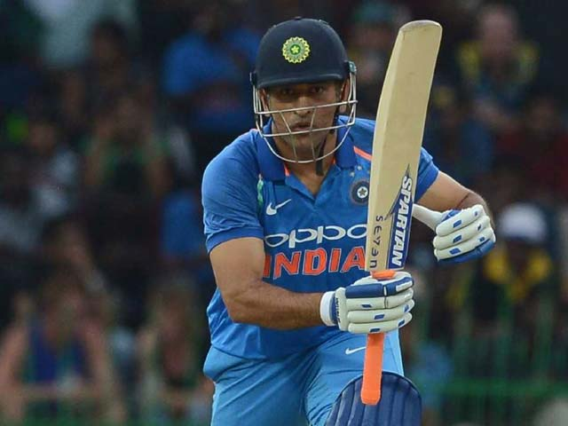 India vs Sri Lanka: MS Dhoni