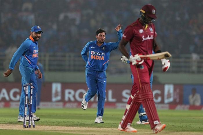 दूसरा वनडे: रोहित-कुलदीप के शानदार प्रदर्शन की मदद से भारत ने वेस्टइंडीज को हराया
