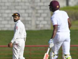 Photo : Kraigg Brathwaite Leads West Indies' Solid Reply Against India