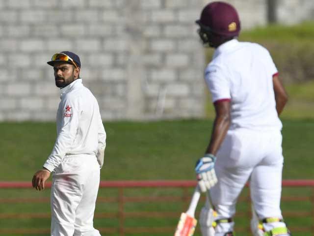 Kraigg Brathwaite Leads West Indies Solid Reply Against India