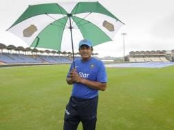 Photo : India vs West Indies, 3rd Test: Incessant Rain Washes Out Third Day's Play