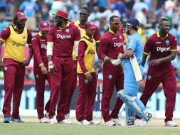 Photo : India Fall One Run Short In World Record Chase Against West Indies