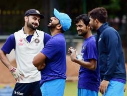 Photo : Anil Kumble's First Day As Team India Coach