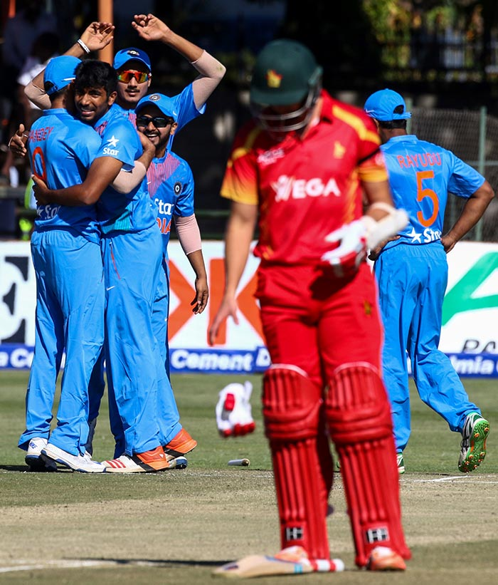 Barinder Sran, Jasprit Bumrah Help India Thrash Zimbabwe, Level Series 1-1