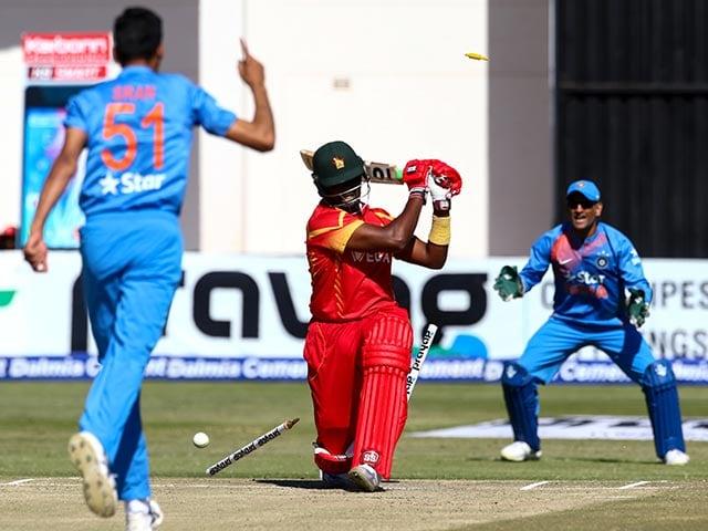 Barinder Sran, Jasprit Bumrah Help India Thrash Zimbabwe, Level Series 1-1