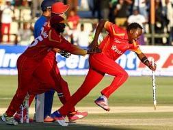 Photo : Zimbabwe Stun India By Two Runs To Take 1-0 Lead In Three-Match Series