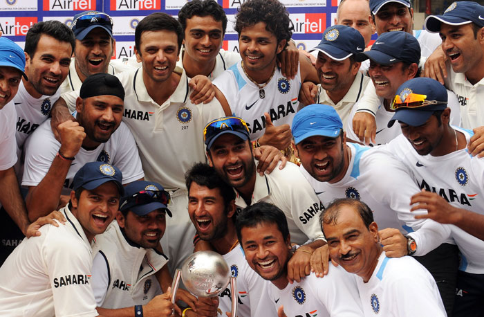 India's first ever series sweep over Australia