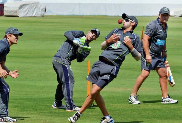 India, Australia practice ahead of the Hyderabad Test