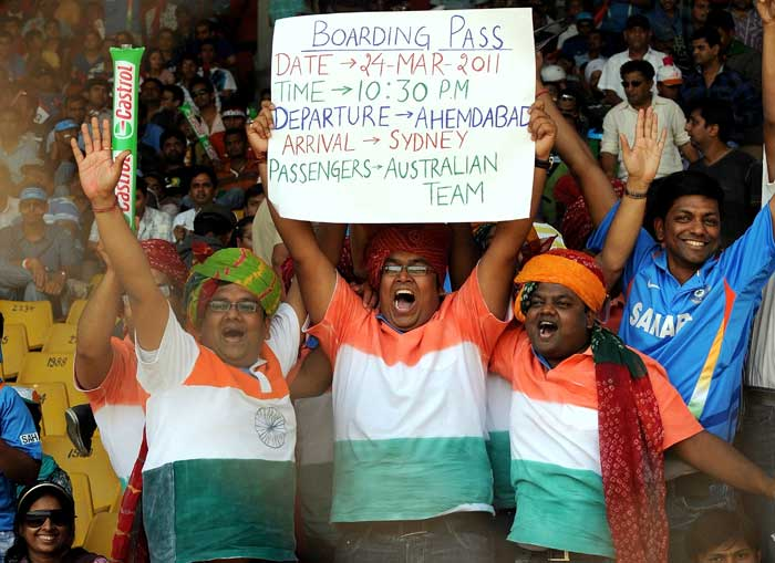 World Cup: Fan frenzy at Motera