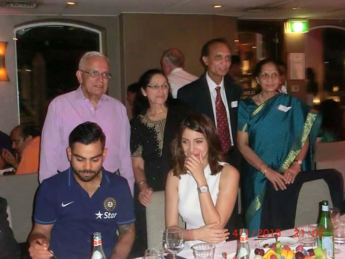 Virat Kohli & Team India on