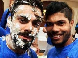 Photo : Team India Celebrates Captain Virat Kohli's Birthday Ahead of England Series