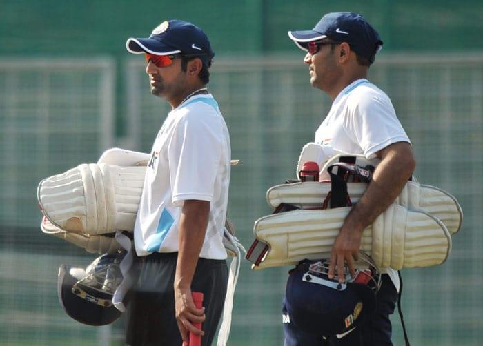 Team India toils for Aus test