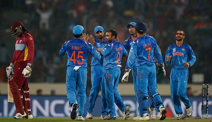 World Twenty20: India cruise past defending champions WI
