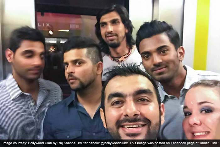 Indian Cricketers Turn on Heat at Sydney Night Club