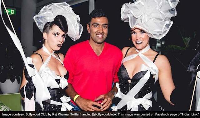Indian Cricketers Turn on Heat at Sydney Night Club