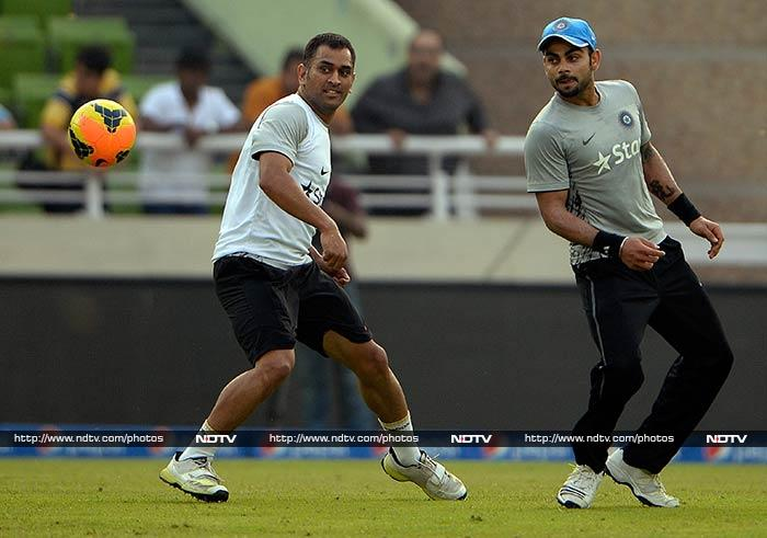 ICC World Twenty20: Team India brings fun into training ahead of big final vs Sri Lanka