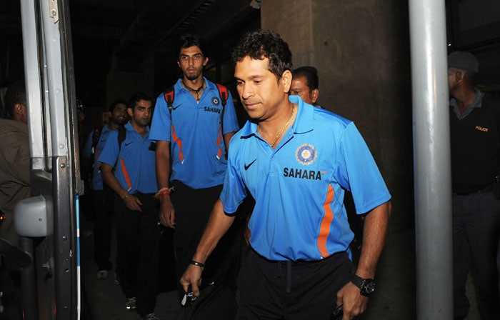 Team India arrives in SA