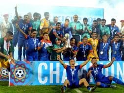 Photo : SAFF Cup: India Extract Revenge to Sink Afghanistan in Final