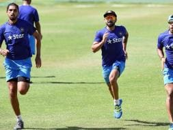 Photo : India in West Indies: Virat Kohli & Co Sweat it Out in The Nets