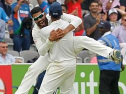 Photo : Indians 'Party' After Historic Lord's Win