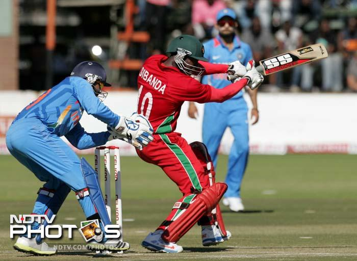 India defeat Zimbabwe to go 2-0 up