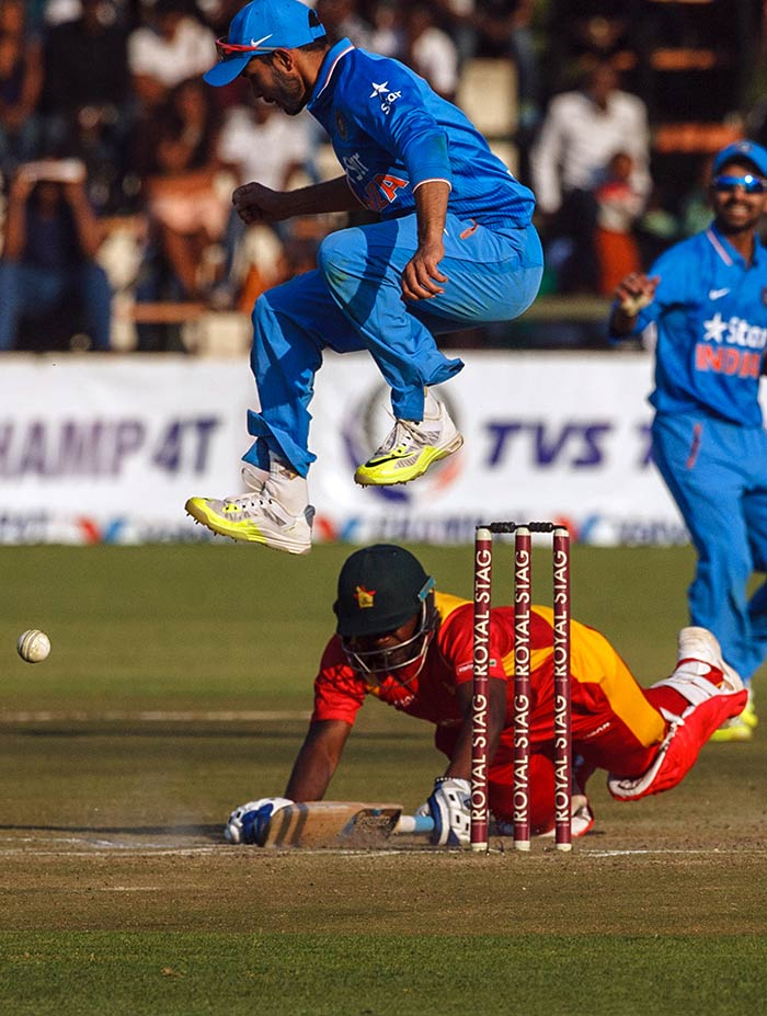 1st T20I: India Outclass Zimbabwe to Take Lead