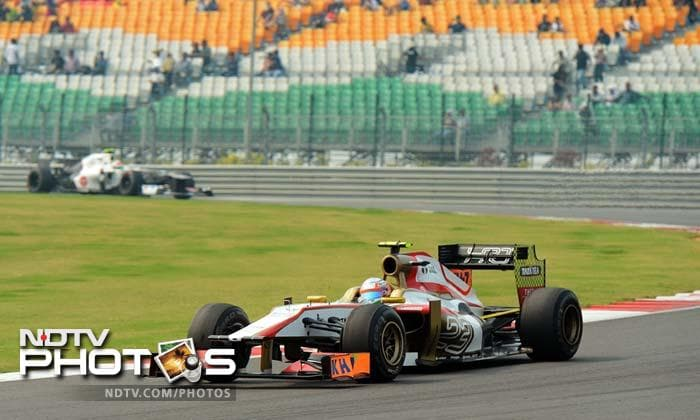 Indian GP Qualifiers: It's Red Bull at the pole again!