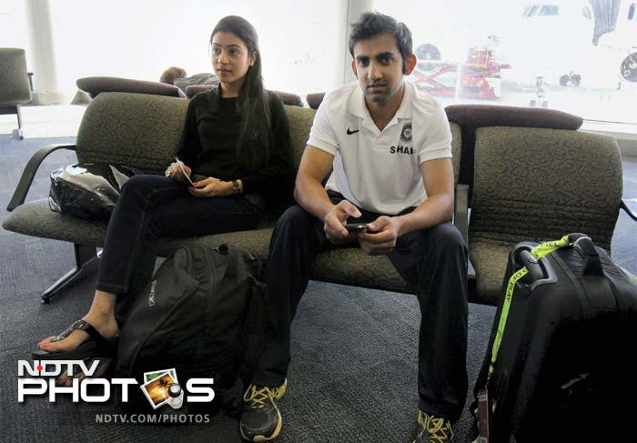Team India departs from Melbourne