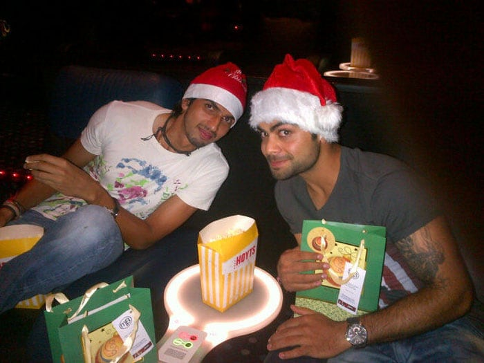 Virat, Ishant turn into Santa