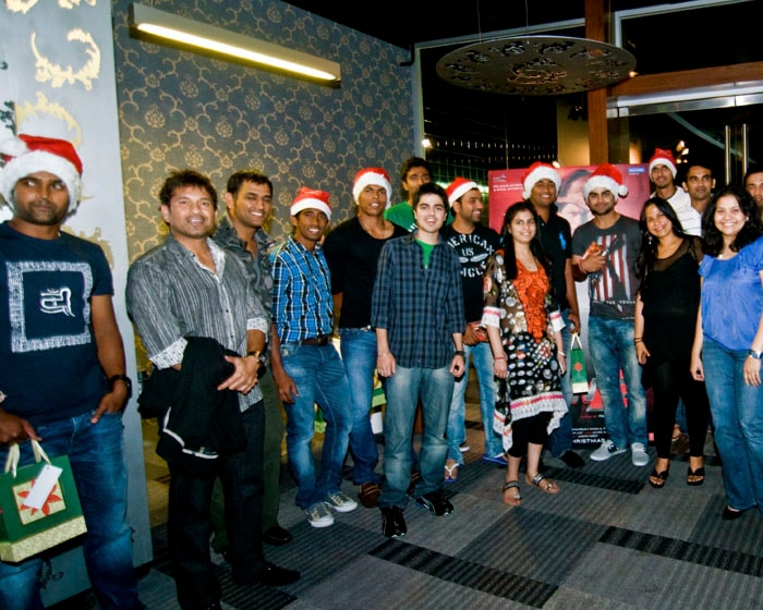 Team India at a special screening of Don 2