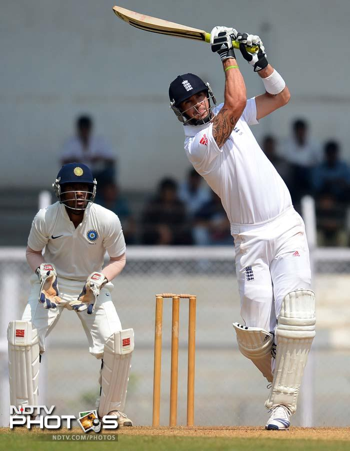 Day 2: England ride high on skipper Alastair Cook's century