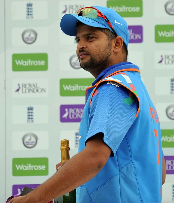 It's Bubbly Time For Team India