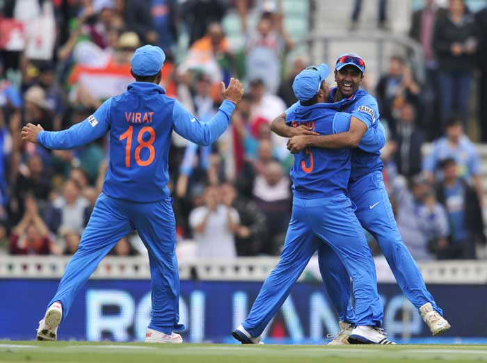 Dhawan, Jadeja heroes as India crush West indies, enter Champions Trophy semifinals