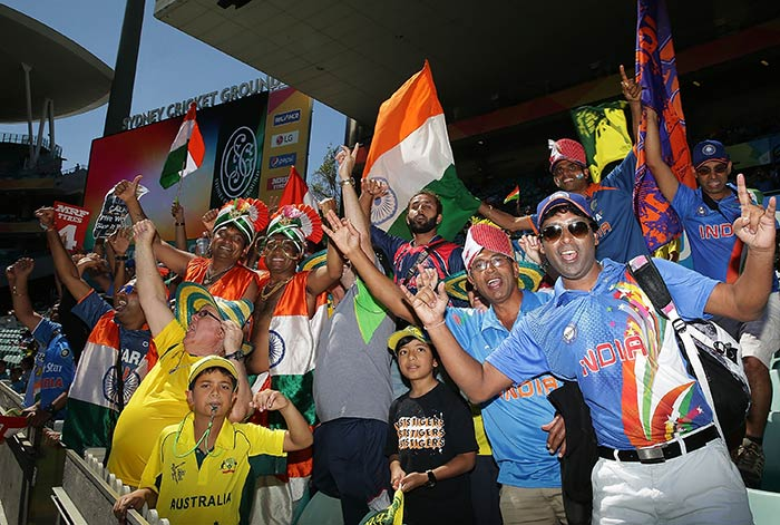 World Cup: Indian Fans Take Over SCG For Semifinal vs Australia