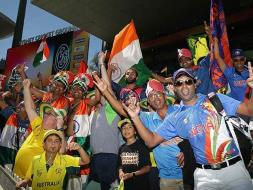 Photo : World Cup: Indian Fans Take Over SCG For Semifinal vs Australia
