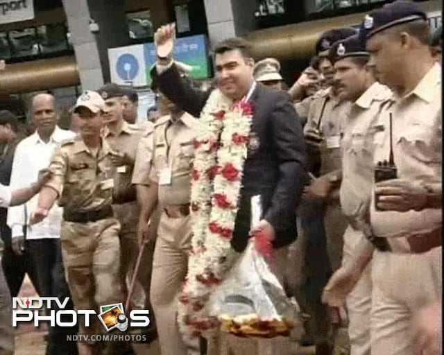 Indias Olympic heroes and their homecoming