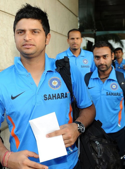 India leave for South Africa