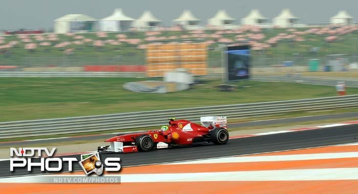 Vettel wins the first ever pole at Indian GP