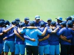 Photo : Team India Sweats it Out Ahead of Crucial Brisbane ODI Against Australia