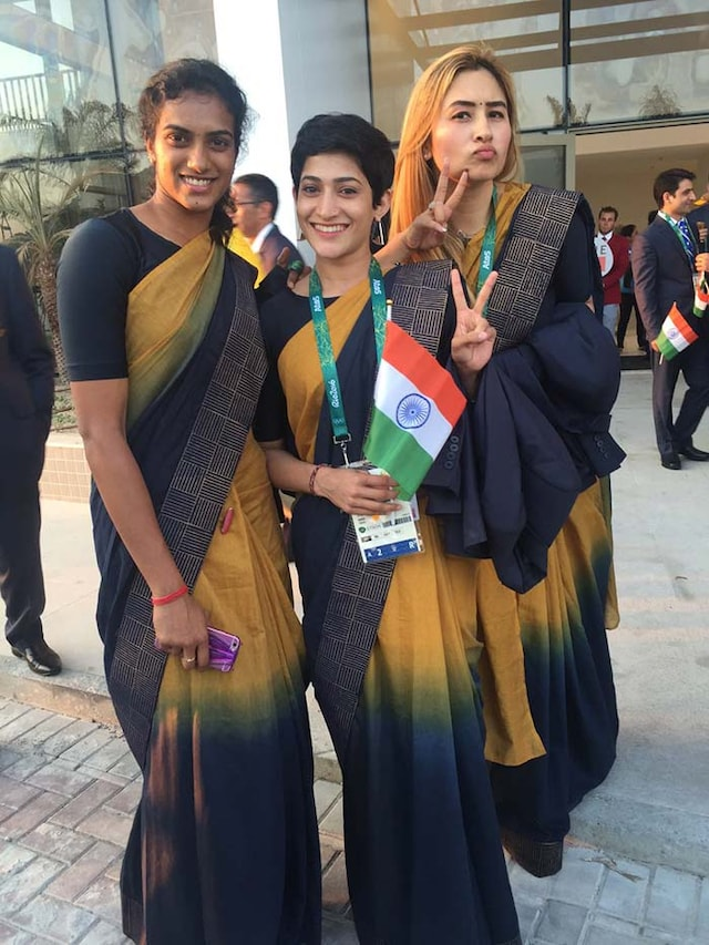 Rio Olympics: Indian Contingent Makes a Statement at Opening Ceremony