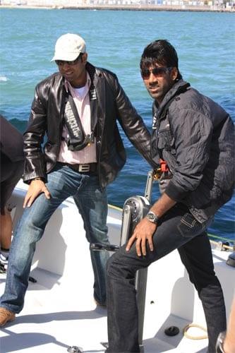 Team Indias sky walk