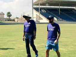 Photo : Team India Train Ahead of Second Test vs West Indies