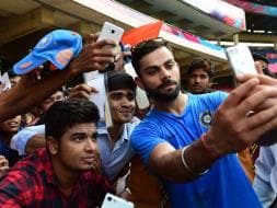 Photo : World T20: From Selfies to Bouncers, Team India Mix Fun With Practice