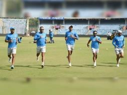 Photo : MS Dhoni's India Ready to go 2-0 Up vs New Zealand in ODI Series