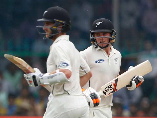 1st Test, Kanpur: Kane Williamson, Tom Latham Light Up Rain-Hit Day 2