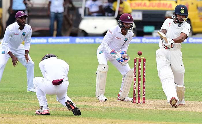 दूसरा टेस्ट: पहले ही दिन अश्विन की फिरकी के आगे वेस्टइंडीज पस्त