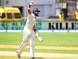 Photo : 2nd Test: KL Rahul's Stellar Show Puts India on Top vs Windies on Day 2
