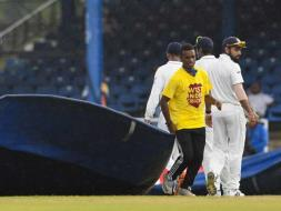 Photo : Trinidad Test: Rain Denies India Upper Hand Against West Indies On Day 1