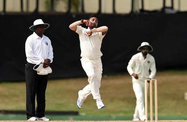 Amit Mishra Stars as India Draw WICB Presidents XI in Warm-Up Match