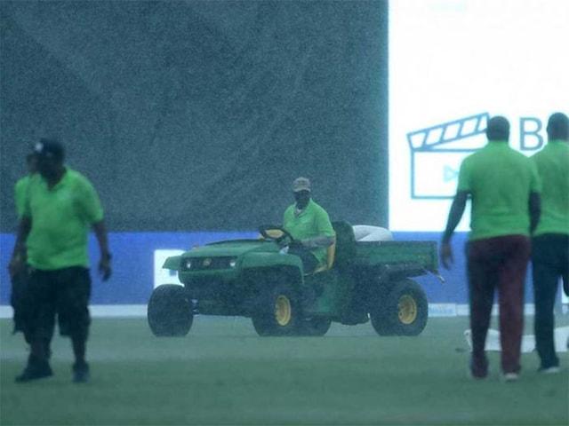 2nd T20I: Rain Spoils Indias Chances as Windies Take Series 1-0